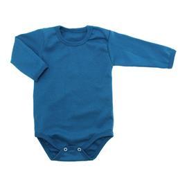 Imagem - Body de Bebê Manga Longa Ribana Lapuko - 5299-body-ml-ribana-azul-petroleo