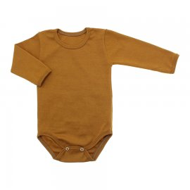 Imagem - Body de Bebê Manga Longa Ribana Lapuko - 5299-body-ml-ribana-carameloa