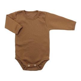 Imagem - Body de Bebê Manga Longa Ribana Lapuko - 5299-body-ml-ribana-caramelo