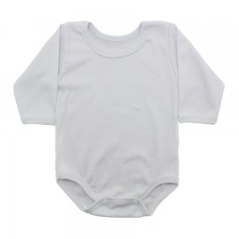Imagem - Body de Bebê Manga Longa Ribana Lapuko - 5299-body-ml-ribana-off-branco