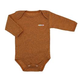 Imagem - Body de Bebê Manga Longa Ribana Lapuko - 5299-body-ml-ribana-laranja-mescla