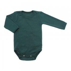 Imagem - Body de Bebê Manga Longa Ribana Lapuko - 5299-body-ml-verde-escuro