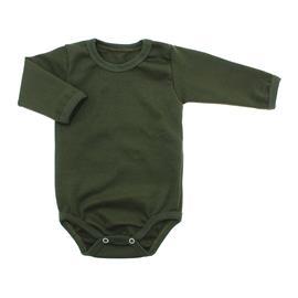 Imagem - Body de Bebê Manga Longa Ribana Lapuko - 5299-body-ml-ribana-verde-militar
