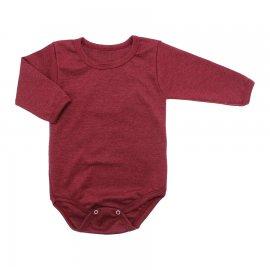 Imagem - Body de Bebê Manga Longa Ribana Lapuko - 5299-body-ml-rib.-vermelho-mescla