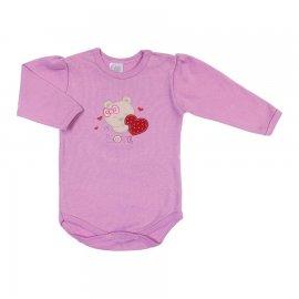 Imagem - Body de Bebê Manga Longa Baby Gijo  - 6565-rosa