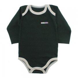 Imagem - Body de Bebê Manga Longa  - 10132-body-ml-verde-escuro
