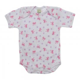 Imagem - Body de Bebê Menina - 10116-body-mc-lacinhos