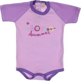 Body de Bebê Manga Curta Smoby Baby 6067