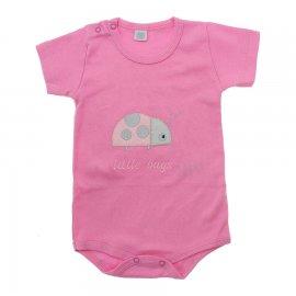 Imagem - Body de Bebê Menina - 10116-body-mc-litlle-bugs-rosa