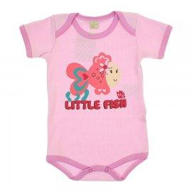 Imagem - Body de Bebê Little Fish 5887 - 5887 - Rosa