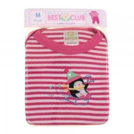 Imagem - Body e Calça de Bebê Best Club  - 6413-Rosa