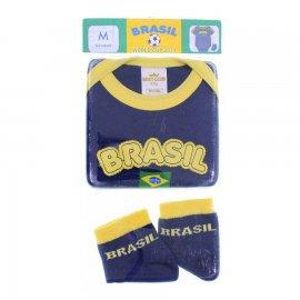 Imagem - Body de Bebe Best Club Seleção Brasileira - 6408