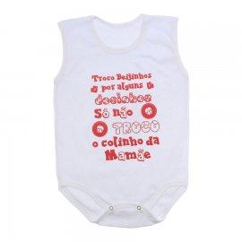 Imagem - Body de Bebê Regata  - 10169-body-regata-colinho-da-mamae-
