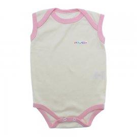 Imagem - Body de Bebê Regata - 10124-body-regata-creme-rosa