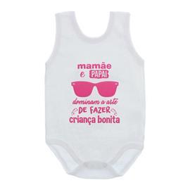 Imagem - Body de Bebê Regata Frases - 10074-body-regata-criança-bonita-ro