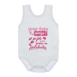 Imagem - Body de Bebê Regata Frases - 10074-body-regata-instababy-rosa