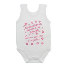 Imagem - Body de Bebê Regata Frases - 10074-body-regata-sintomas-de-fofur