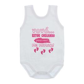 Body de Bebê Regata Frases
