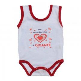 Imagem - Body de Bebê Regata Menina - 10187-body-regata-coracao-vermelho