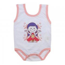 Imagem - Body de Bebê Regata Menina - body-de-bebe-regata-menina-flor-ros