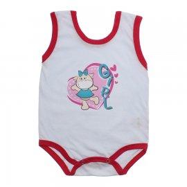 Imagem - Body de Bebê Regata Menina - 10187-body-regata-girl-chiclete