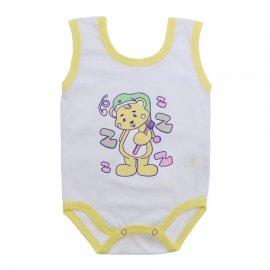 Imagem - Body de Bebê Regata Menina - 10187-body-regata-pimpao-amarelo