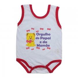 Imagem - Body de Bebê Regata Menina - 10187-body-regata-orgulho-papai-ver