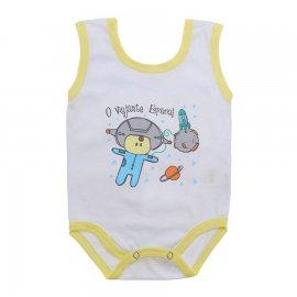 Imagem - Body de Bebê Regata Menino - 10186-body-regata-astronauta-amarel
