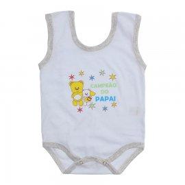 Imagem - Body de Bebê Regata Menino - 10186-body-regata-campeao-mescla