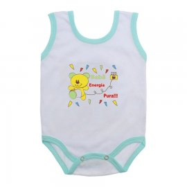 Imagem - Body de Bebê Regata Menino - 10186-body-regata-pura-energia-verd
