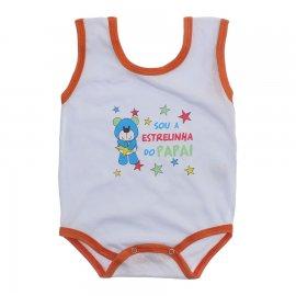 Imagem - Body de Bebê Regata Menino - 10186-body-regata-estrelinha-papai-