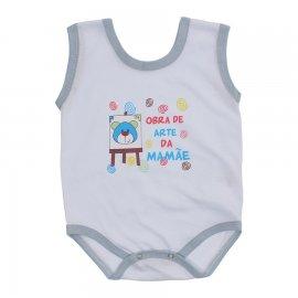 Imagem - Body de Bebê Regata Menino - 10186-body-regata-obra-de-arte-azul