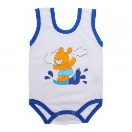 Imagem - Body de Bebê Regata Menino - 10186-body-regata-surf-royal