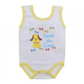 Imagem - Body de Bebê Regata Menino - 10186-body-regata-xodo-casa-amarelo
