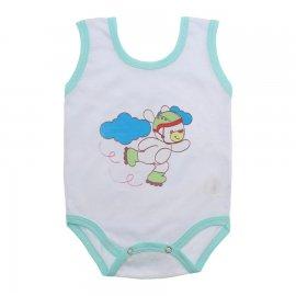 Imagem - Body de Bebê Regata Menino - 10186-body-regata-patins-verde
