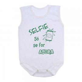 Imagem - Body de Bebê Regata  - 10169-body-regata-selfie-verde