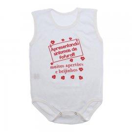 Imagem - Body de Bebê Regata  - 10169-body-regata-sintomas-fofura-v