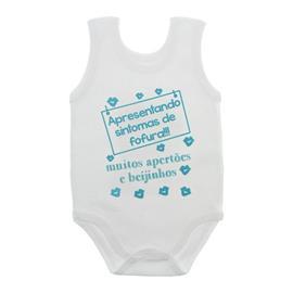 Imagem - Body de Bebê Regata Unissex com Frases - 10075-body-regata-sintomas-fofura