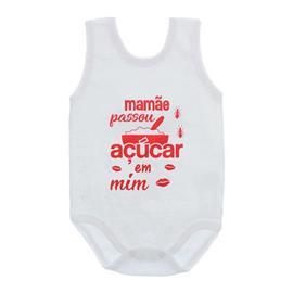 Imagem - Body de Bebê Regata Unissex Frases  - 10075-body-regata-acucar-em-mim-ver