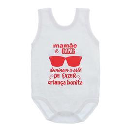 Imagem - Body de Bebê Regata Unissex Frases  - 10075-body-regata-criança-bonit-ver