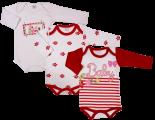Imagem - Body de Bebê Kit 3 Peças 5837 - 5837