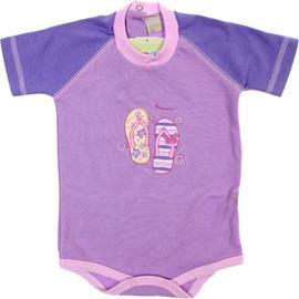 Imagem - Body de Bebê Manga Curta Smoby Baby - 6067-chinelo-lilas