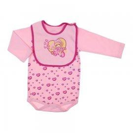 Imagem - Body e Babador de Bebê Penélope Charminho  6505 - 6505-rosa