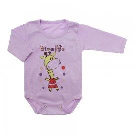 Imagem - Body Manga Longa Menina Lapuko - 10180-body-ml-girafa-lilas