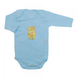 Imagem - Body de Bebê Manga Longa - 10126-body-ml-estampado-azul-bebe