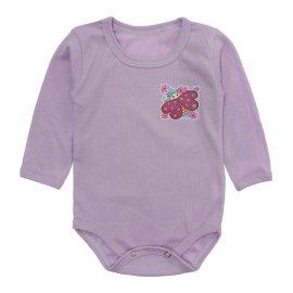 Imagem - Body Bebê em Ribana Lapuko - 10220-body-ml-rib-lilas