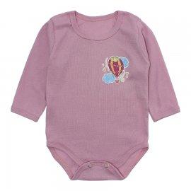 Imagem - Body Bebê em Ribana Lapuko - 10220-body-ml-ribana-rosa