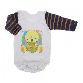 Imagem - Body para Bebê Manga Longa  - 10170-body-ml-urso-bola-marinho-mar