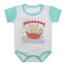 Imagem - Body Bebê Menina Lapuko - 9964-body-mc-chua-verde