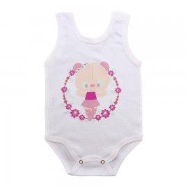 Imagem - Body para Bebê Menina Regata  - 10046-body-regata-bailarina